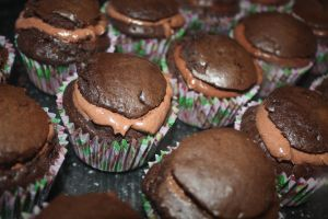 Chocolate Cupcakes + Mousse 1 by CrossFade1105