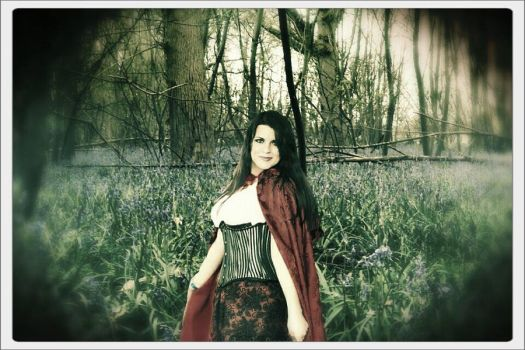 Red Riding Hood/Ruby Once Upon a Time in the Woods by PhoenixForce85