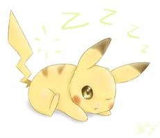 Sleepy Pika by MsKtty89