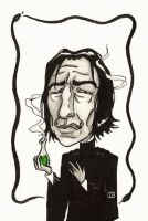 HP - Bobblehead Snape by agent57