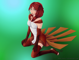 Vulpix -Gijinka- by Shes-t