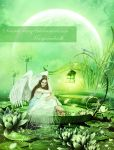 Angel Of Lotus Pond by SeventhFairy