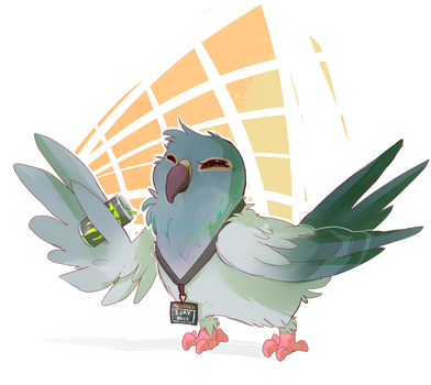 DreamHack Pigeon! by IdleLifestyle