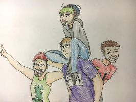 The Squad!  by Radioactive1713