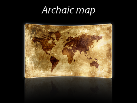 archaic map by zinph