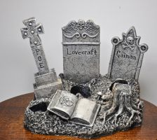 All Hallows' Read Graveyard Bottle Stand by DellamorteCo
