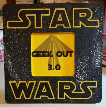 Star Wars Picture Frame  by aperfectmjk