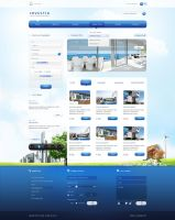 Real Estate website 2 by carl913