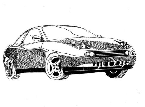 Fiat Coupe by josemiguelgarcia