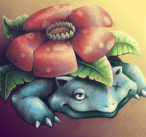 Venusaur 2012 by grouchywolfpup