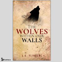 The Wolves within our walls Book Cover by SanagaDesign