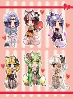 ChibiAdopts-17: CLOSED by mostlyniceAdopts