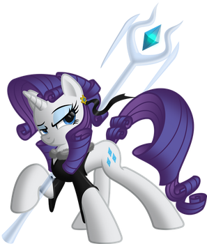 Rarity The Warrior by RatchetHuN