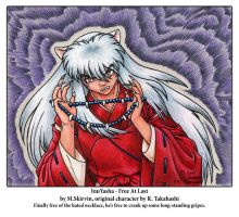 InuYasha - Free At Last by M-Skirvin