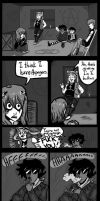 Five Goths Discuss Ailments by Corny63