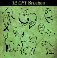 Cat Brushes by Aidoku