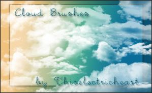 Real Cloud Brushes by thiselectricheart