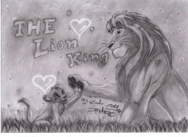 DISNEY - THE LION KING - ANIMATION - MOVIE by ESanchezz-Drawing