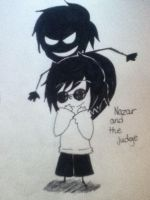 Nazar and the judge chibi by Abundant-Chaos