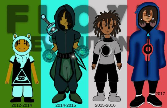 Floyd's Evolution by ThaMaJesticArtist