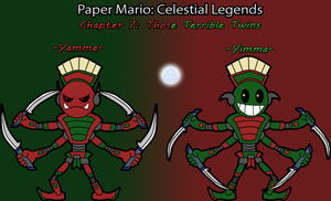CL Chapter 7 Bosses: Yamma and Yimma by TheSpiderManager