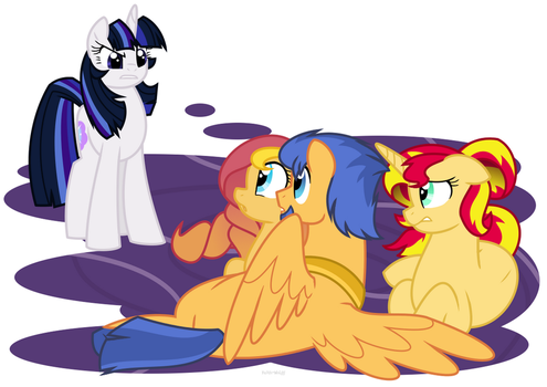 What's going on here?! by Faith-Wolff