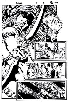 Prymal: The Jungle Warrior#1 Page 3 by MaelstromMediaComics