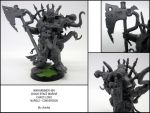 Nurgle Chaos Lord Conversion by chaotea