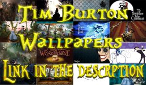 Tim Burton Wallpapers by nataschamyeditions
