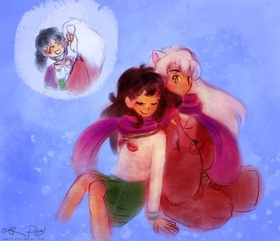 Inukag Collab - Gift by Rocioo