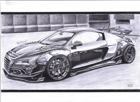 Audi FxR8 by Faik05
