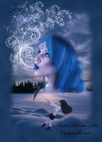 Surreal Lady Winter by marphilhearts