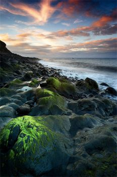 Green rock by ChristopheCarlier