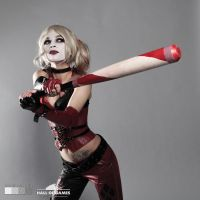 Harley Quinn cosplay by Hella A. by HelenQuila
