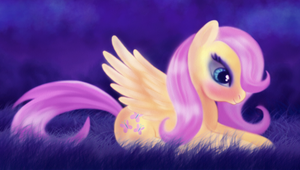 Fluttershy by macalaniaa