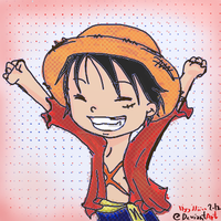 Monkey D Luffy by llyyddiiaa