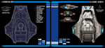 U.S.S. Allegiant | Manta-class Scout Exterior by Auctor-Lucan