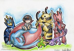 Dylan's Pokemon team