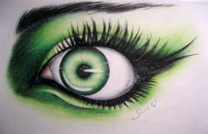 Green eye by Szura69