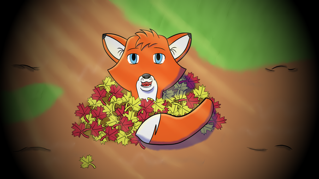 Tod in leafs! by LasicaArts