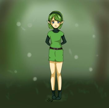 Saria by BakaArts