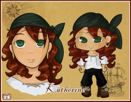 Pirate Katherine by lev-en