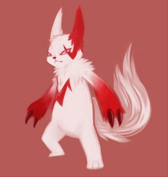 Zangoose by geheichous