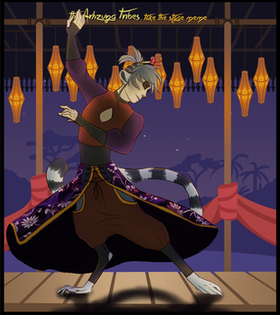 AT: Performance - Dancing Lemur by Wolf-of-DirtyPaws