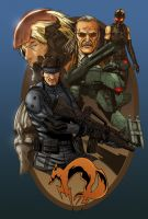 Metal Gear Solid by Hitokirisan