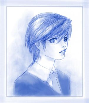 Haruhi almost realistic by C4mi