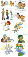 Doctor Whooves And Assistant Doodles by Dream-Of-Serenity