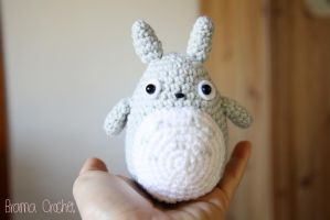 Little TOTORO Amigurumi crochet doll by BramaCrochet
