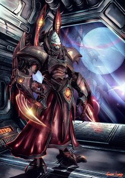 Alarak - Starcraft by GobGrael