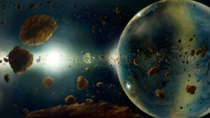 The Bubble Planet by ValentiniaK